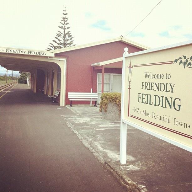 #feilding #railway #station #nz #newzealand #instagram