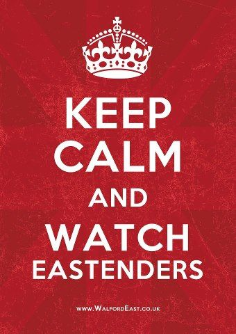 Love Eastenders!!! #makesmehappy @Blanca Prado Stuff UK