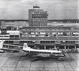 Heathrow airport, 1960's.