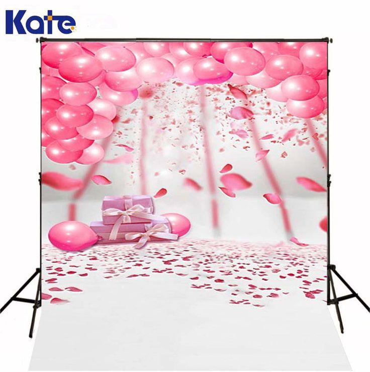 $27.70 (Buy here: https://alitems.com/g/1e8d114494ebda23ff8b16525dc3e8/?i=5&ulp=https%3A%2F%2Fwww.aliexpress.com%2Fitem%2FPink-balloons-giftLK-2501%2F1604151629.html ) 150X200CM Kate White Background Photo Studio Pink Balloon White Floor Pink Flowers Gift Box Happy Birthday Theme Background for just $27.70