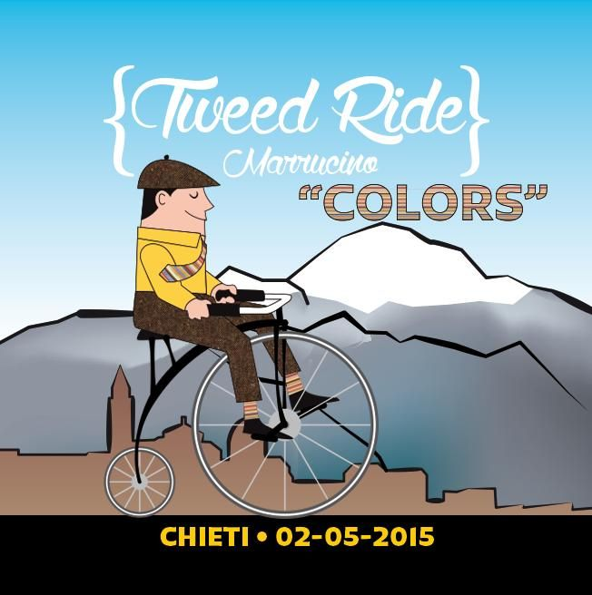 Tweed Ride Marrucino Chieti COLORS Il classico tweed ride a tema colore