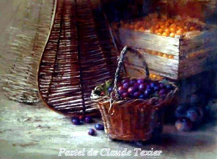 多彩粉笔│ - 法国Claude Texier 粉笔画作品选(静物篇) - 忆雨紫烟书画艺术空间 - 忆雨紫烟书画艺术空间的群博客