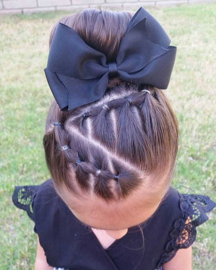 Girl's hairstyle