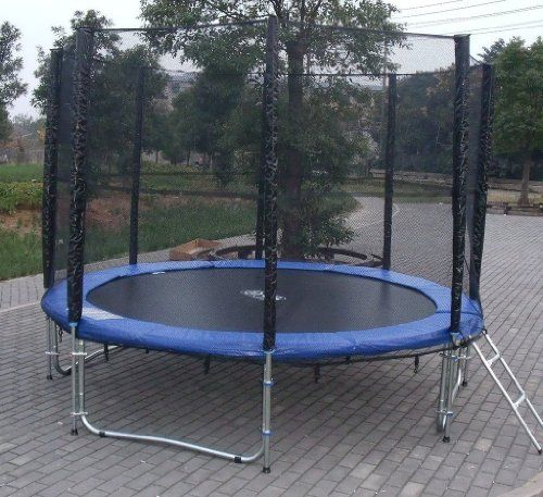 Black Friday 2014 ExacMe 10ft Trampoline W/ Safety Pad And