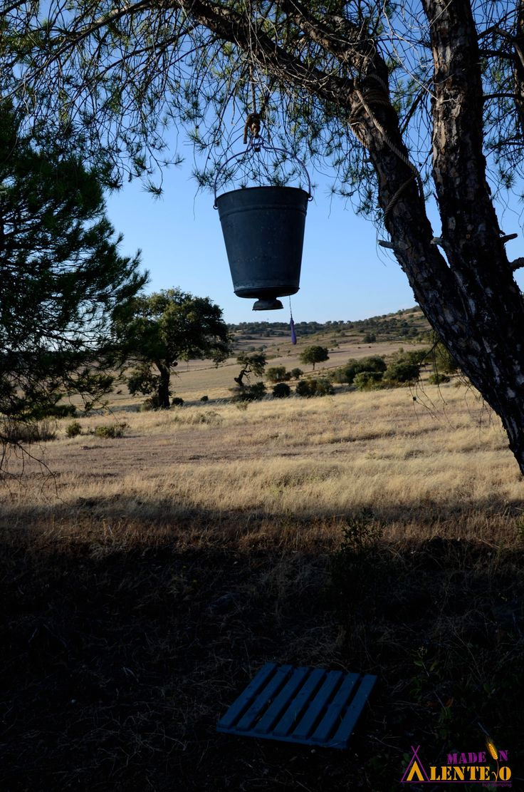 One of our outdoor showers. Very old fashioned.  #MadeInAlentejo #Eco #Glamping #OutdoorShower