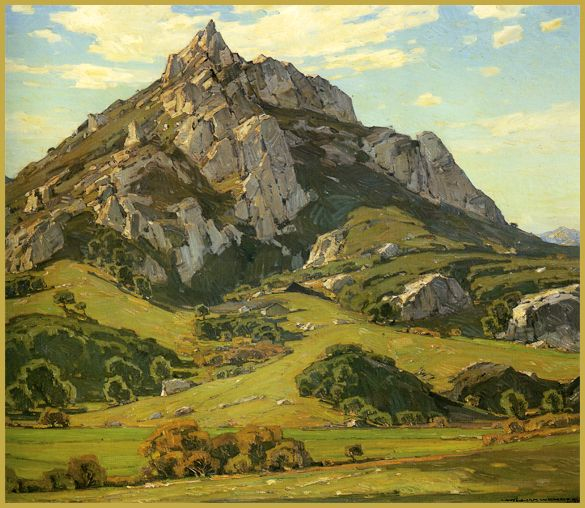 William Wendt (1865-1946) American