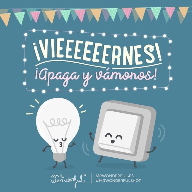 Salgo a disfrutar del finde a la velocidad de la luz. Friiiiiday! Switch off and let's go! I am heading out to enjoy the weekend at the speed of light. #mrwonderfulshop #friday #party #quotes