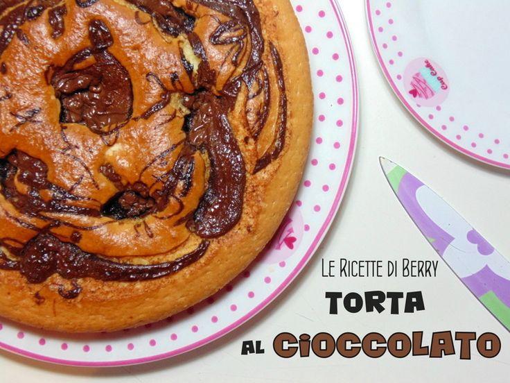 Torta con Crema al Cioccolato Senza Burro e Uova