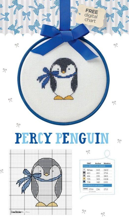 Cross Stitch Penguin