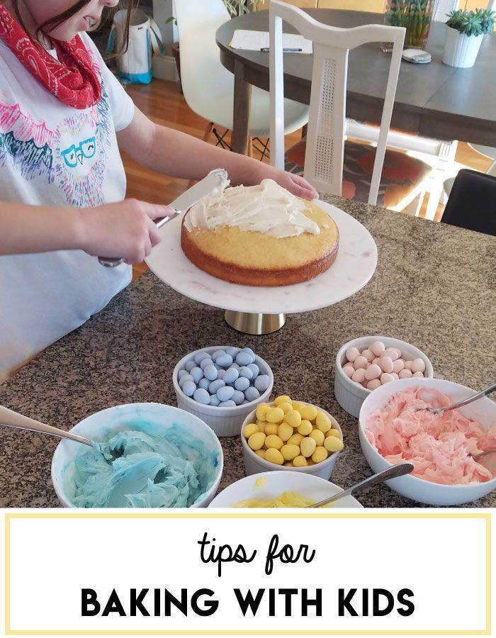 Tips For Baking Cakes With Kids How To Make In The Kitchen Fun And Parents Recipe Kidsfoodrecipe Bake Parenting Family