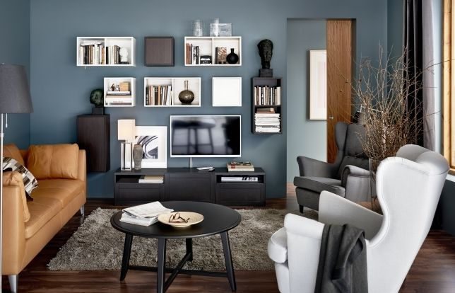 bestÄ - enjoy the view, even when the tv's off. | living rooms