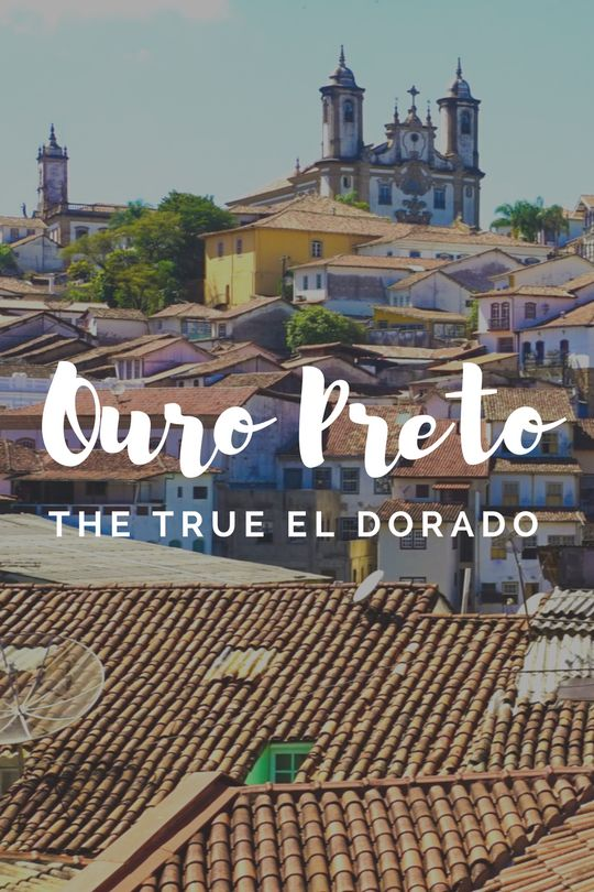 Ouro Preto in Brazil - The True El Dorado and a UNESCO World Heritage Site in Brazil! Ouro Preto minas gerais is off-the-beaten track but a highlight of Brazil. Discover it's rich history in mining and gold production. See the Historic Town of Ouro Preto (Black Gold) today! ☆☆ Travel Guide / Bucket List Ideas Before I Die By #Inspiredbymaps ☆☆