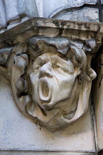Gargoyle, City College of New York, CCNY, NYC. IMG_1702LR edit by StevenC_in_NYC, via Flickr
