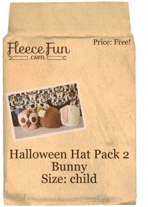 hat pack 2 bunny child