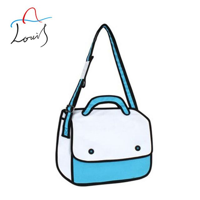 Guangzhou huadu fashion 3d school bag model cartoon bag