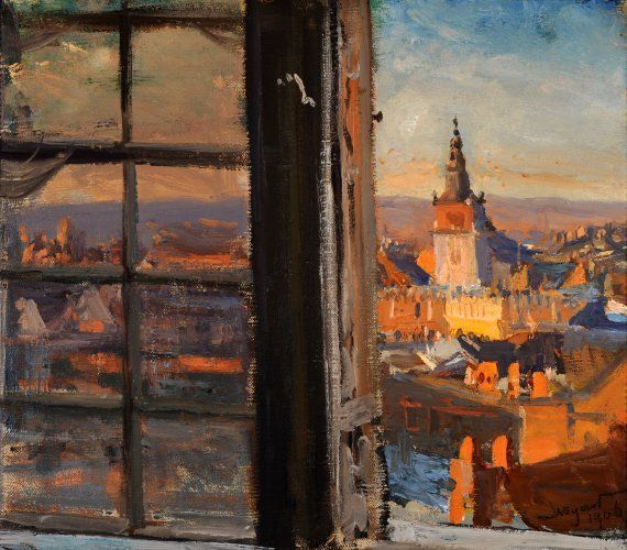 Leon Wyczółkowski ~ View of Wawel, 1906
