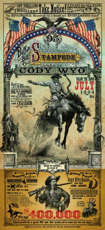 354 Best Images About Antique Rodeo Posters On Pinterest