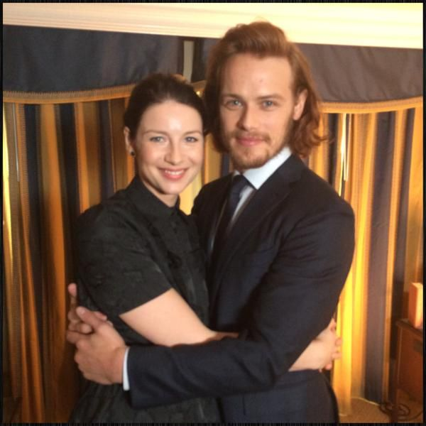 Here are new pictures of Caitriona Balfe and Sam Heughan at TCA15 Always lovely to see @caitrionambalfe & @SamHeughan! And a nice way to start my day at #TCA15. #Outlander #Access Source | Sour...