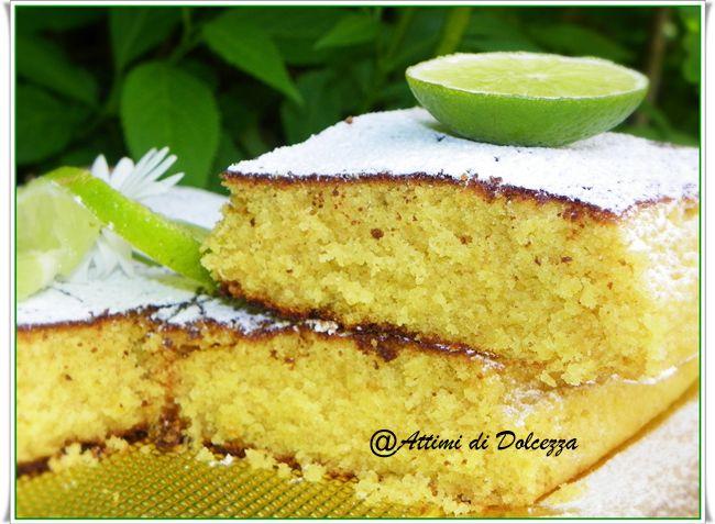 TORTA AL LIME / CAKE LIME