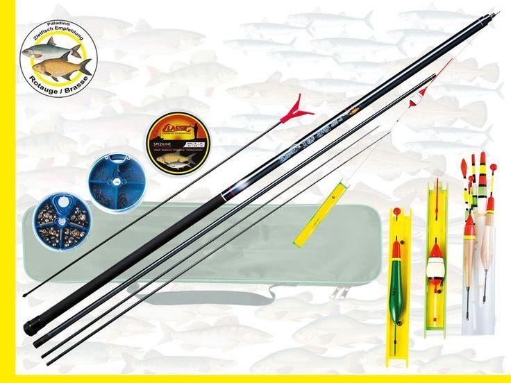 Für alle Freunde des schnellen, erfolgreichen Fischens mit der Kopfrute. Die Total Control 4004 bietet Ihnen 4 Meter Teleskoprute mit Ersatzspitzen in extra verstärkte Ausführung, damit auch...