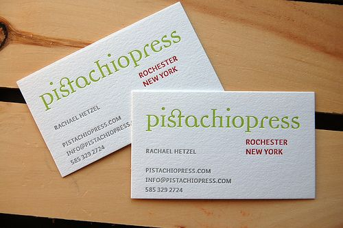 Simple layout for this business card, but the font, colours and ...