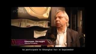 Alberta Salotti: from Milano To Shangai  Giuseppe Sbroggio, Alberta President, interviewed by an important Chinese Tv program