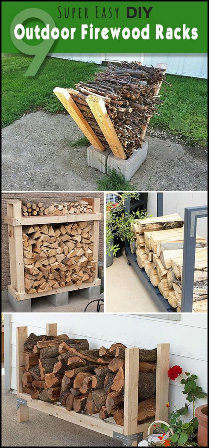 Firewood Storage Ideas!  See more on our site at http://theownerbuildernetwork.co/ideas-for-your-rooms/home-storage-gallery/firewood-storage-ideas/