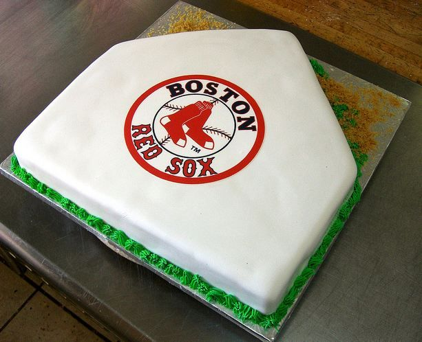 Boston Red Sox Home Plate Cake Possibly My Favorite One