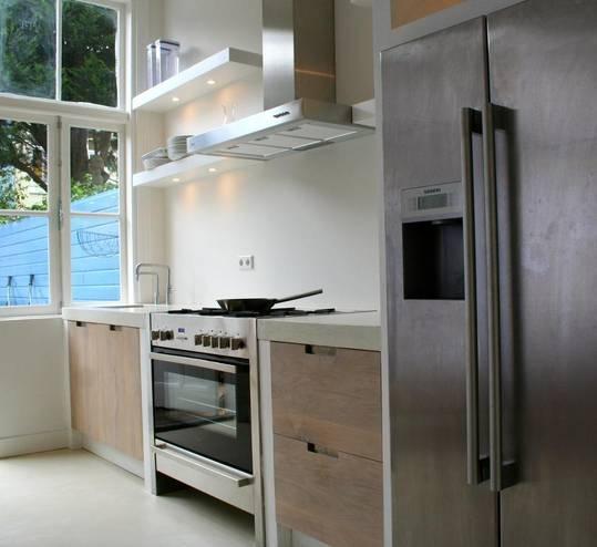 Houten Keuken Betonnen Blad : Marktplaats nl > Eiken houten keuken deuren op maat