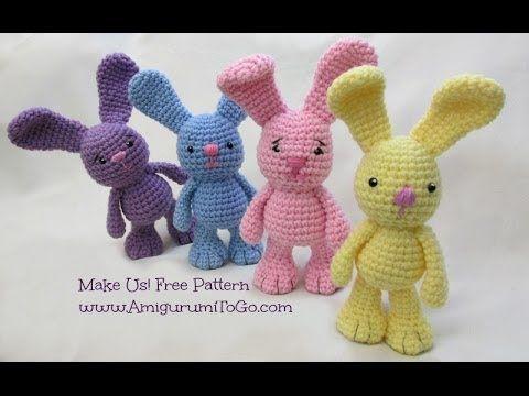 Amigurumi Gato Paso A Paso : 173 best amigurumi video images on pinterest crochet animals