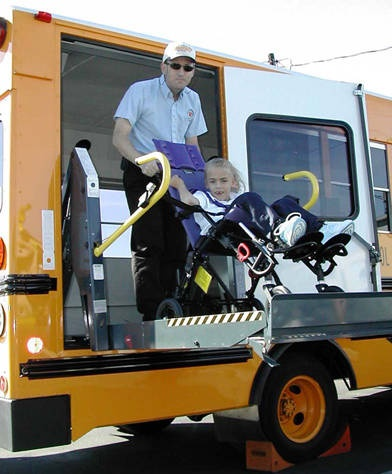 How to Secure Your Transit Wheelchair in a School Bus or Van