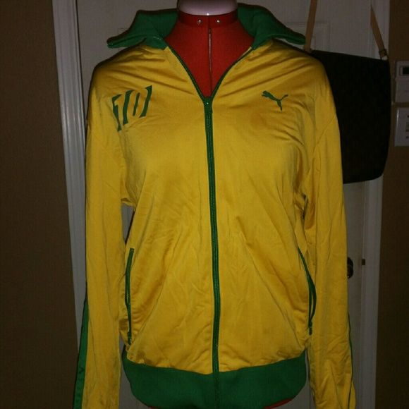 869965eb4 puma track jacket yellow on sale > OFF63% Discounts