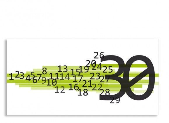 Die U003cstrongu003eEinladung Technik Zum 30. Geburtstagu003c/strongu003e Als Postkarte