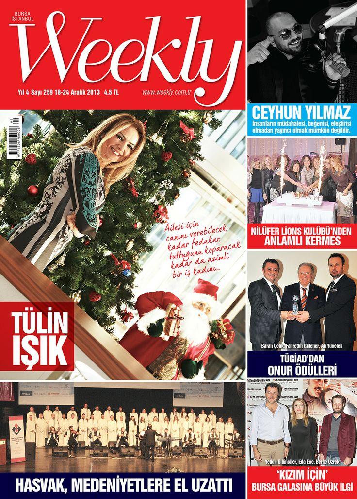 Bugün günlerden WEEKLY! dergi okumak bu kadar kolay ve keyifli olmamıştı. Hemen okumak için; http://www.dijimecmua.com/weekly/8907/index/ yayında ve bayilerde...