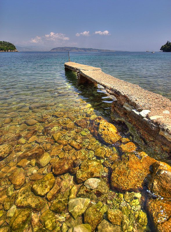 Kalami, Corfu, #Greece by John Murray. Book your Corfu holidays at corfu2travel.com !