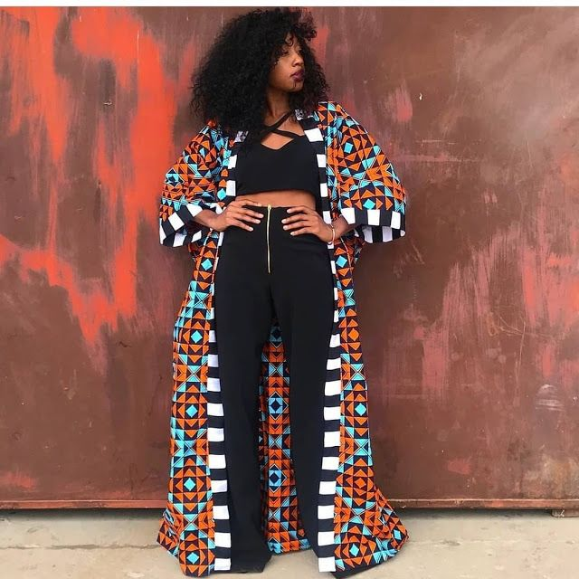Modern African Print Dresses with Modern Influence 2019 : Ankara Collection 5