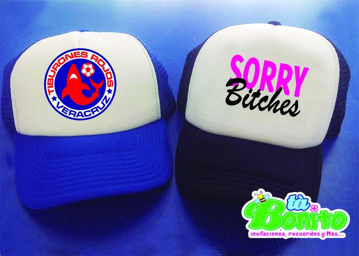 ¡Hoy juega el tiburón! #tiburonesrojos #gorras #bitches #sorry #azul #rojo #futbol #veracruz #mexico