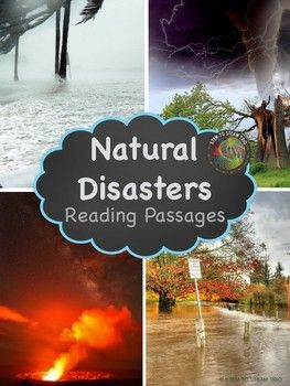 This resource contains five informational reading passages about natural disasters.  It was made for the NGSS 3-ESS3-1 and 4-ESS3-2 Earth and Human Activity Standards.  It covers the following natural disasters: Earthquakes Floods Hurricanes Tornadoes Volcanoes    The passages were written with third graders in mind, but the information is very interesting and complex and would be useful for upper grades as well.
