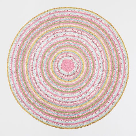 Kids Circular Multicoloured Rug - Rugs & Curtains - Bedroom | Zara Home United Kingdom