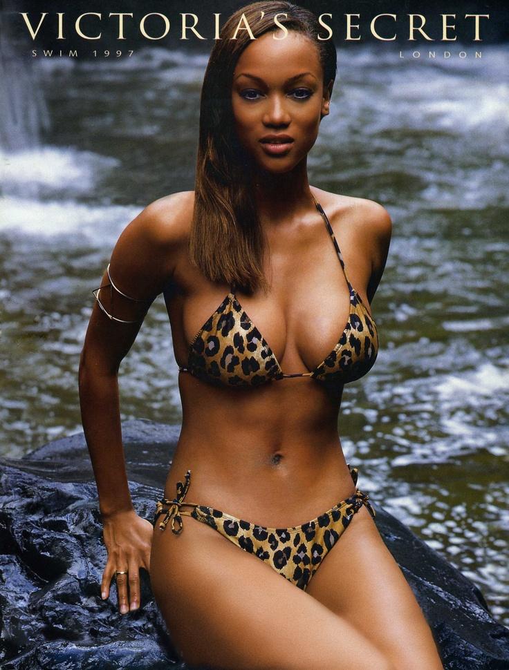 1997 VS Swim Cover | African American Models | Pinterest