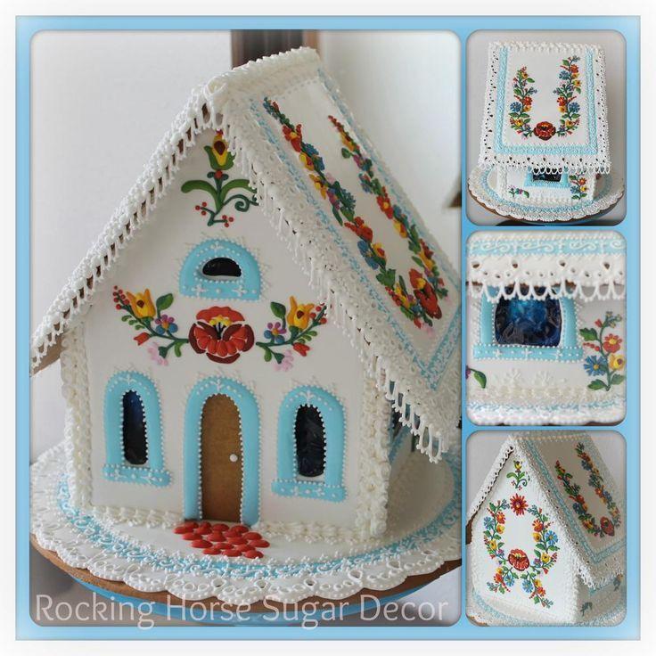 Рождественские домики из пряников