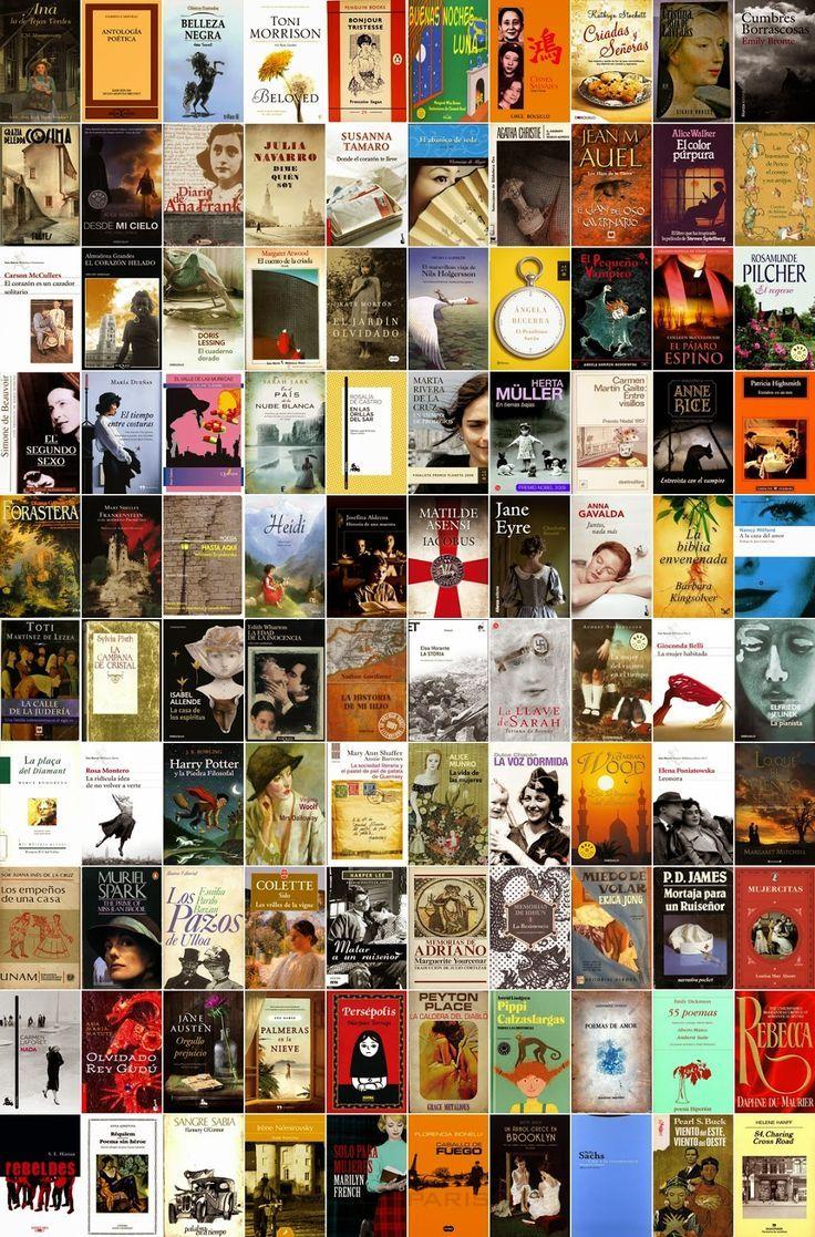 100 Libros De 100 Escritoras Imprescindibles Listas De Libros Libros Para Leer Lectura