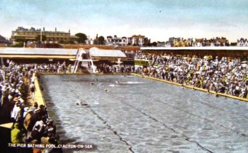 The Pier Bathing Pool Clacton on Sea
