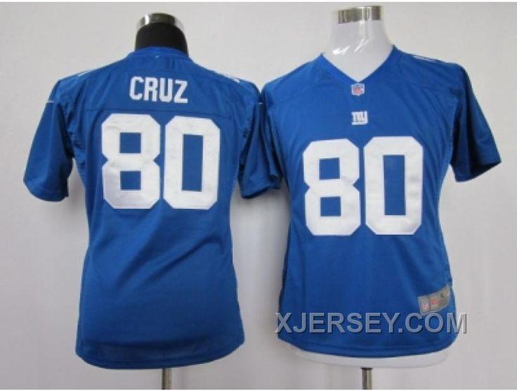 http://www.xjersey.com/online-women-nike-new-york-giants-80-cruz-blue-jersey.html ONLINE WOMEN NIKE NEW YORK GIANTS #80 CRUZ BLUE JERSEY Only $38.00 , Free Shipping!