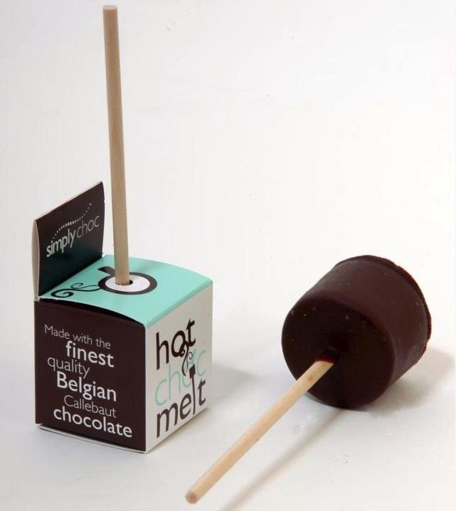 hot choc melt packaging design