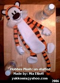 So cute! It would be worth the task to end up with such a cute Hobbes.