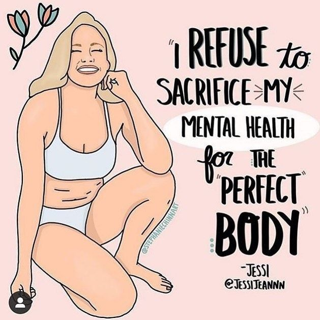 Body Shaming And Healthy Living Body