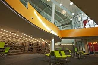 Expanded Poplar Creek library opens today -- Daily Herald