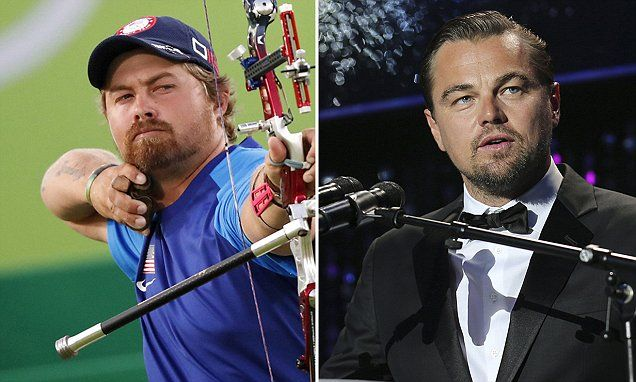 US Olympic archer looks EXACTLY like Leonardo DiCaprio