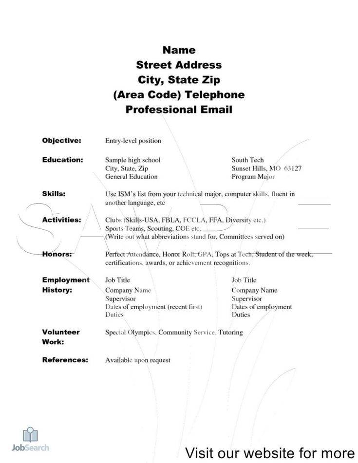 26++ Resume maker for students template ideas